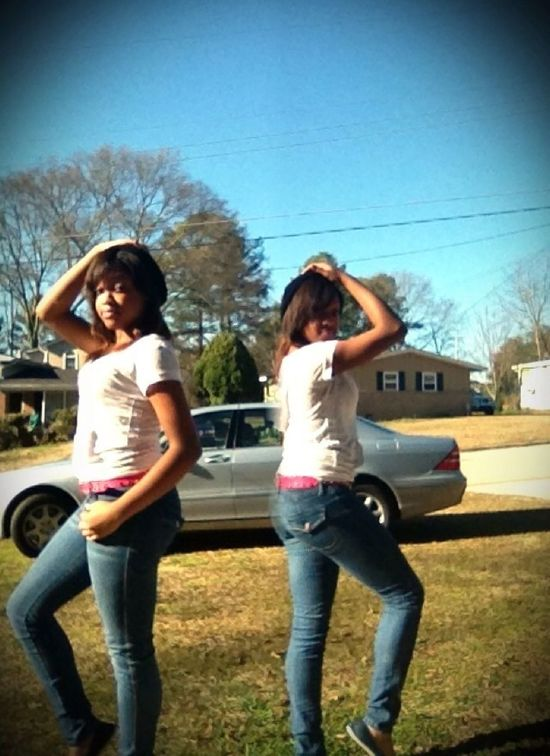 Me And My Twin :)