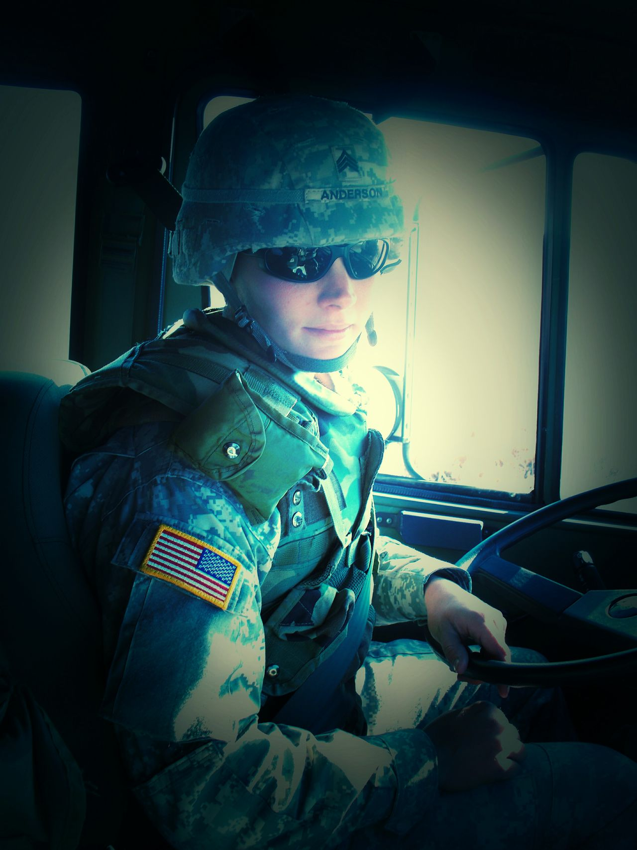Army Strong Drive Transportation In Uniform Glamourous No Ac Soldier Living Army Life Army Strong Girl Soldier Warrior Girl Açu Cab Of A Truck Sexyselfie On A Mission Army Adventure Girl Portrait Tactical Military Vehicles Vehicle Driving Training Field