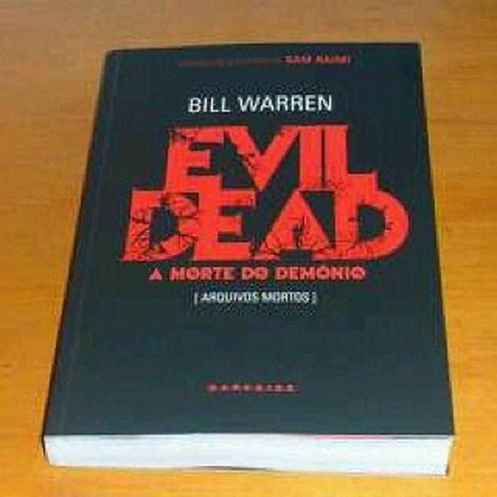 Evil Dead Evildead Billwarren Thebookofdead Ash amortedodemonio darksidebooks classicosdocinema classicmovies books literatura