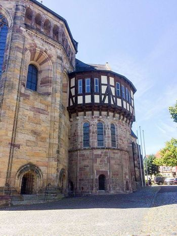 Fritzlar .. The different from this Town to Others is ... it's not a Museum, and have you a question you can ask everybody :) Fritzlar Architecture History Built Structure Outdoors Old Town Fritzlar