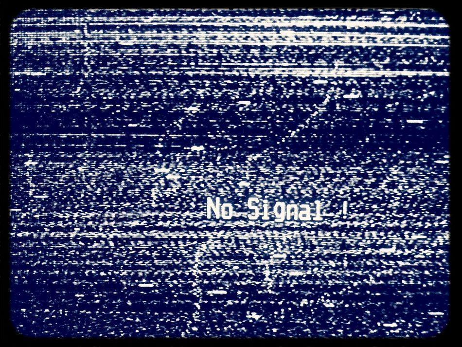 No Signal ! No Signal No Network Television White Noise