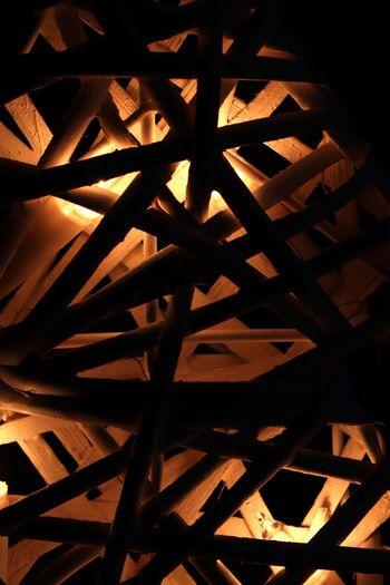 Xmass XmassLights Xmass Basket Full Frame Pattern Indoors  Close-up No People Backgrounds Night Architecture Dark Electric Ligjt Led Lights  LEDLights LED LED