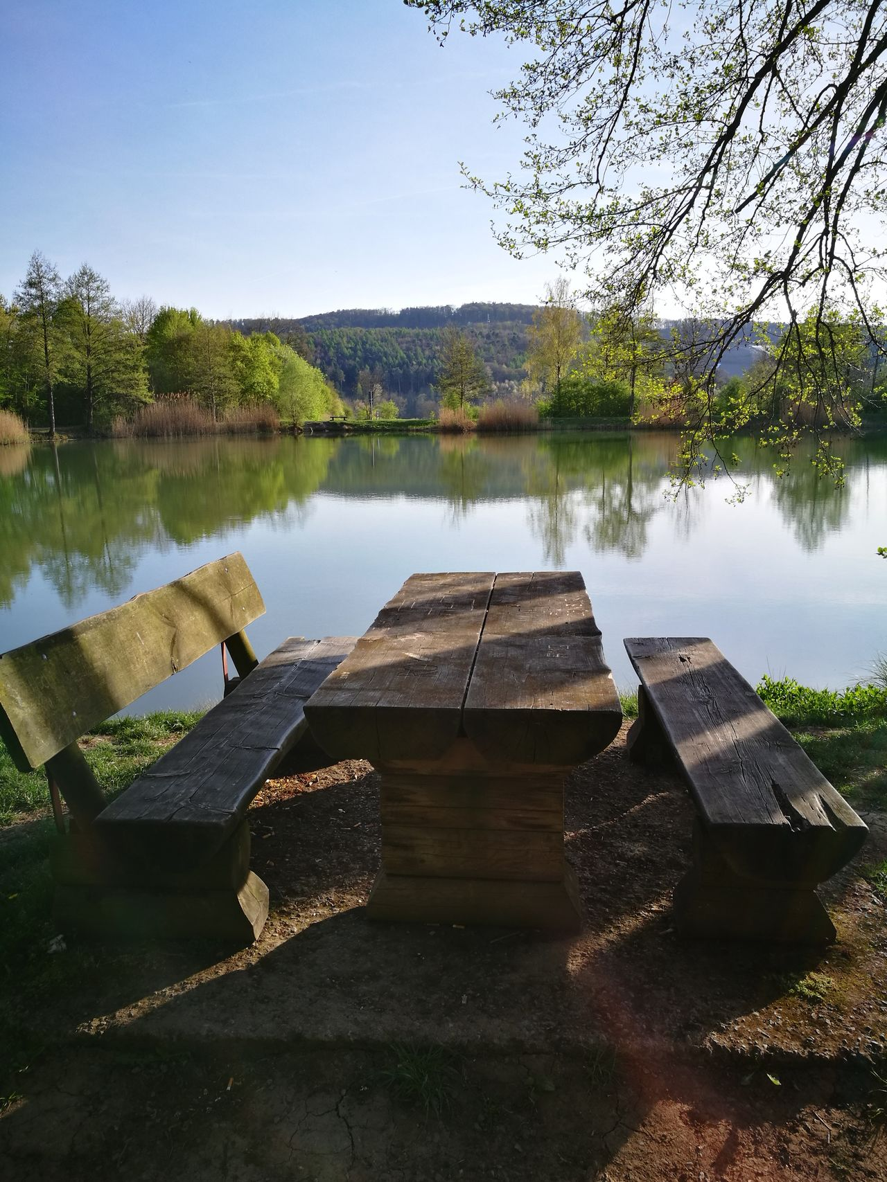 🌹🔆🌹 another Bench with a Relaxing View 🌹🔆🌹 Reflection Water Lake No People Tree Outdoors Nature Landscape Sky Beauty In Nature Day Tranquil Scene Tranquility Scenics Senic No Edit/no Filter The Purist (no Edit, No Filter) No Filter, No Edit, Just Photography Backgrounds EyEmNewHere The Secret Spaces The Great Outdoors - 2017 EyeEm Awards