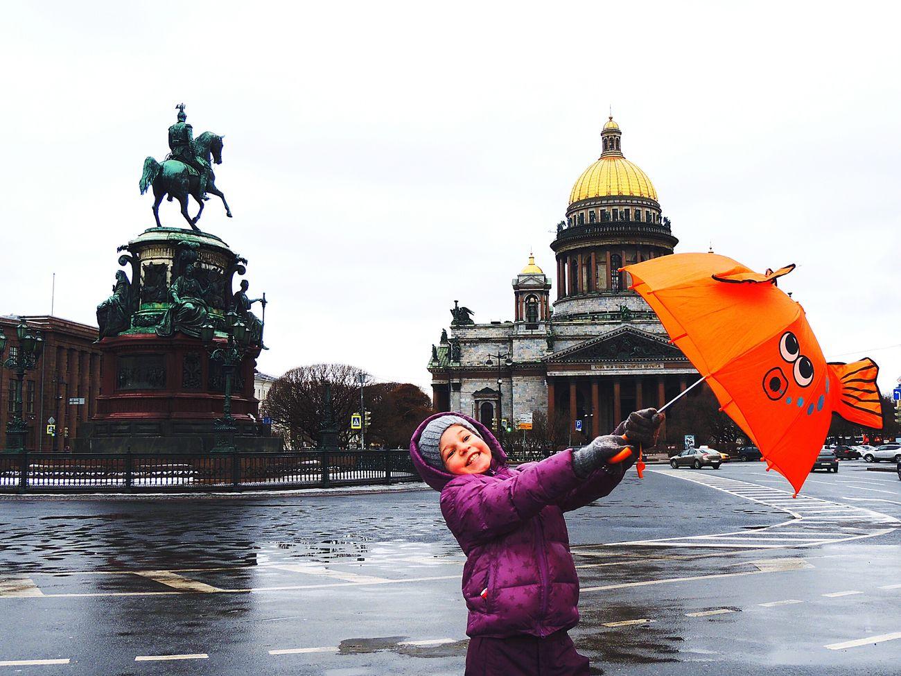 The Umbrellas Of Cherburg St.Issack Petersburg Happy Time