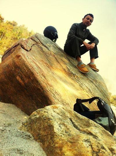 On rock .... Vanishing Point