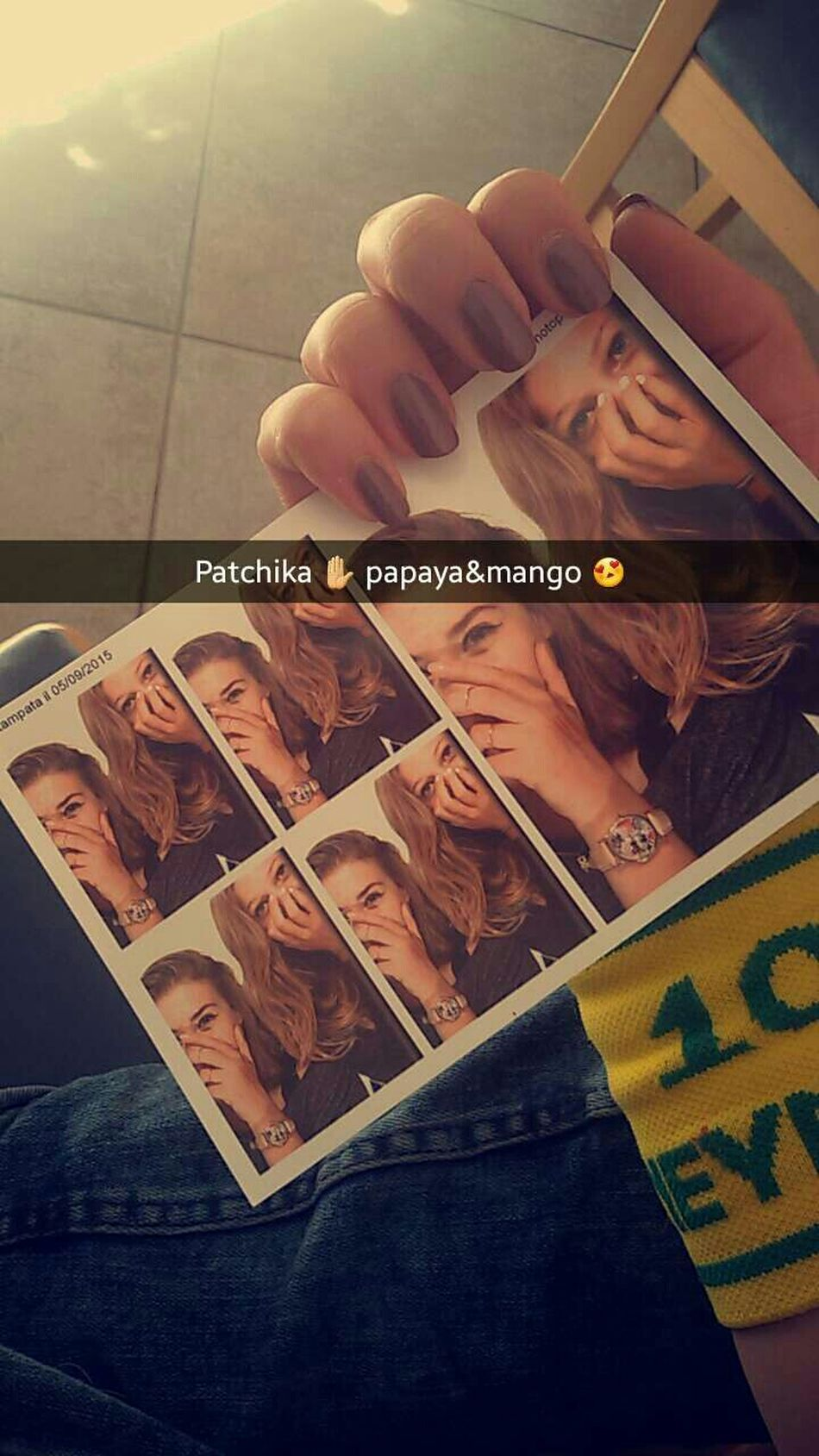 Patchika💖 Mango💙 Papaya 💚DREAMTEAM ❤ Babygirl 😍😍 Tiamopersempre💛 Magnifico 😻 Lastsummerdays💜 To Be With You 💕✊🔝