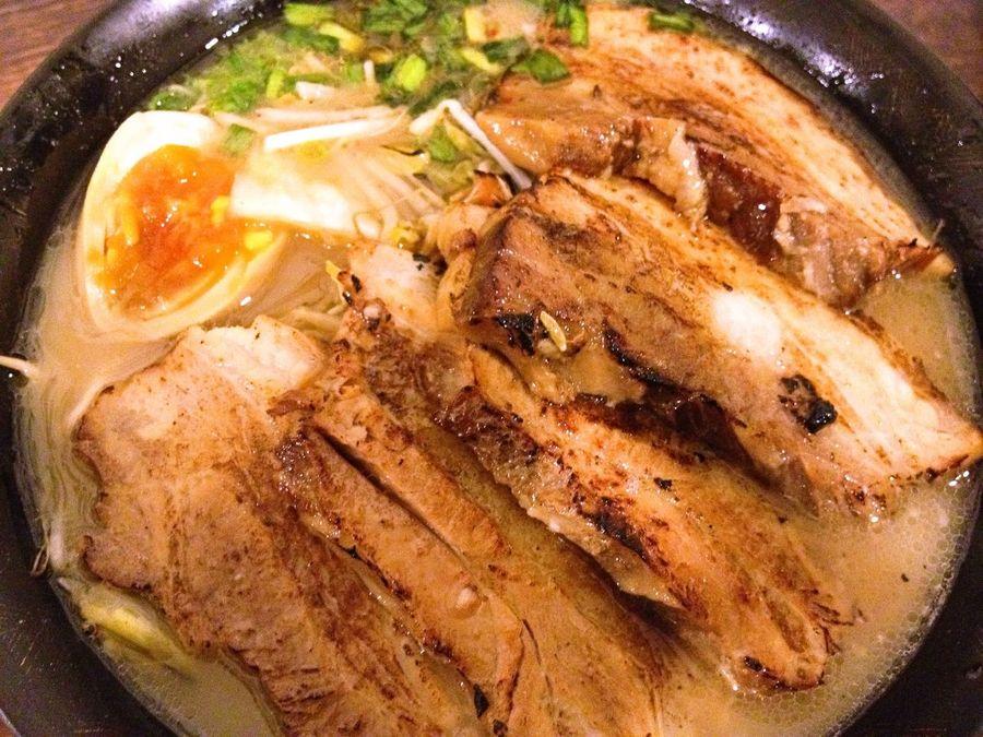 eating at 鈴江ラーメン研究所 Eating