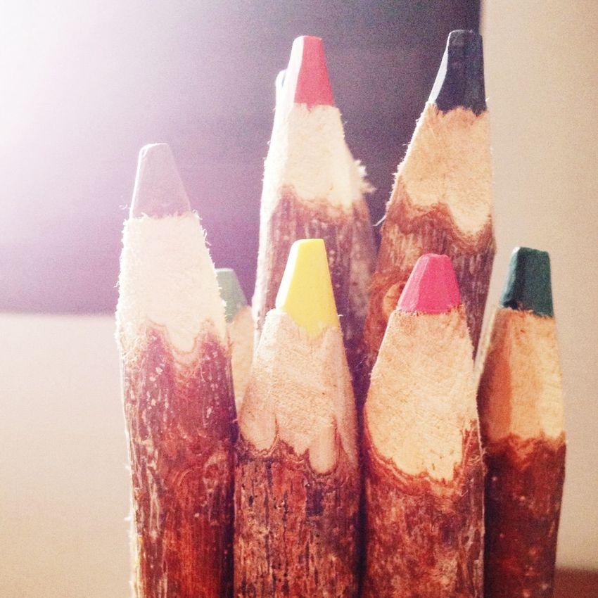 Colors Colorpencils Pencil
