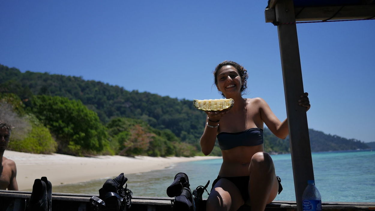 do you want some? Diving Coach Beauty