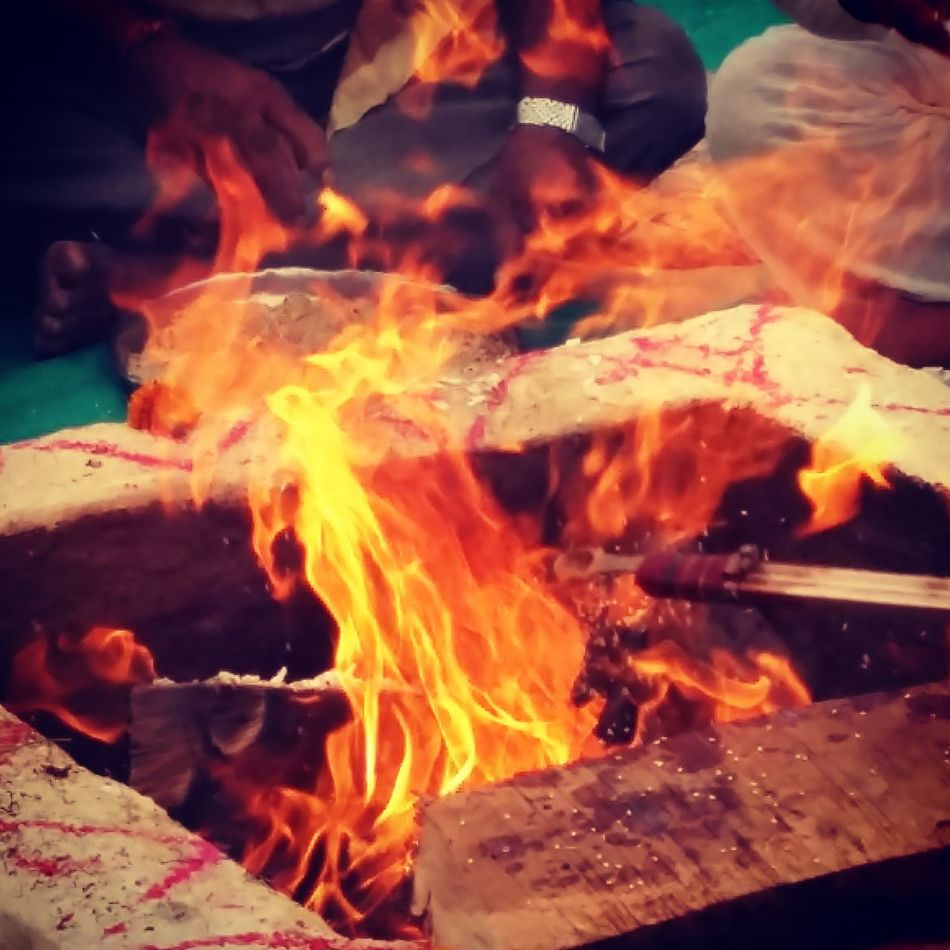 The Spiritual Fire... First Eyeem Photo
