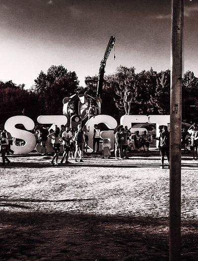 Sziget Festival Hungary Summer Festival Party Island Of Freedom Lot Of People Outdoors Sunlight Built Structure Day Real People People 🎉😁