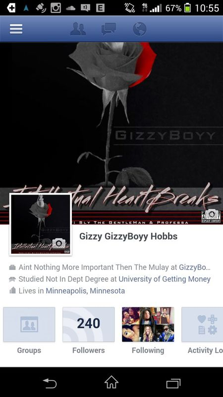 add my facebook page thank u keep up with more of my music like my fan page and follow thank u Teamgizzyboyforever