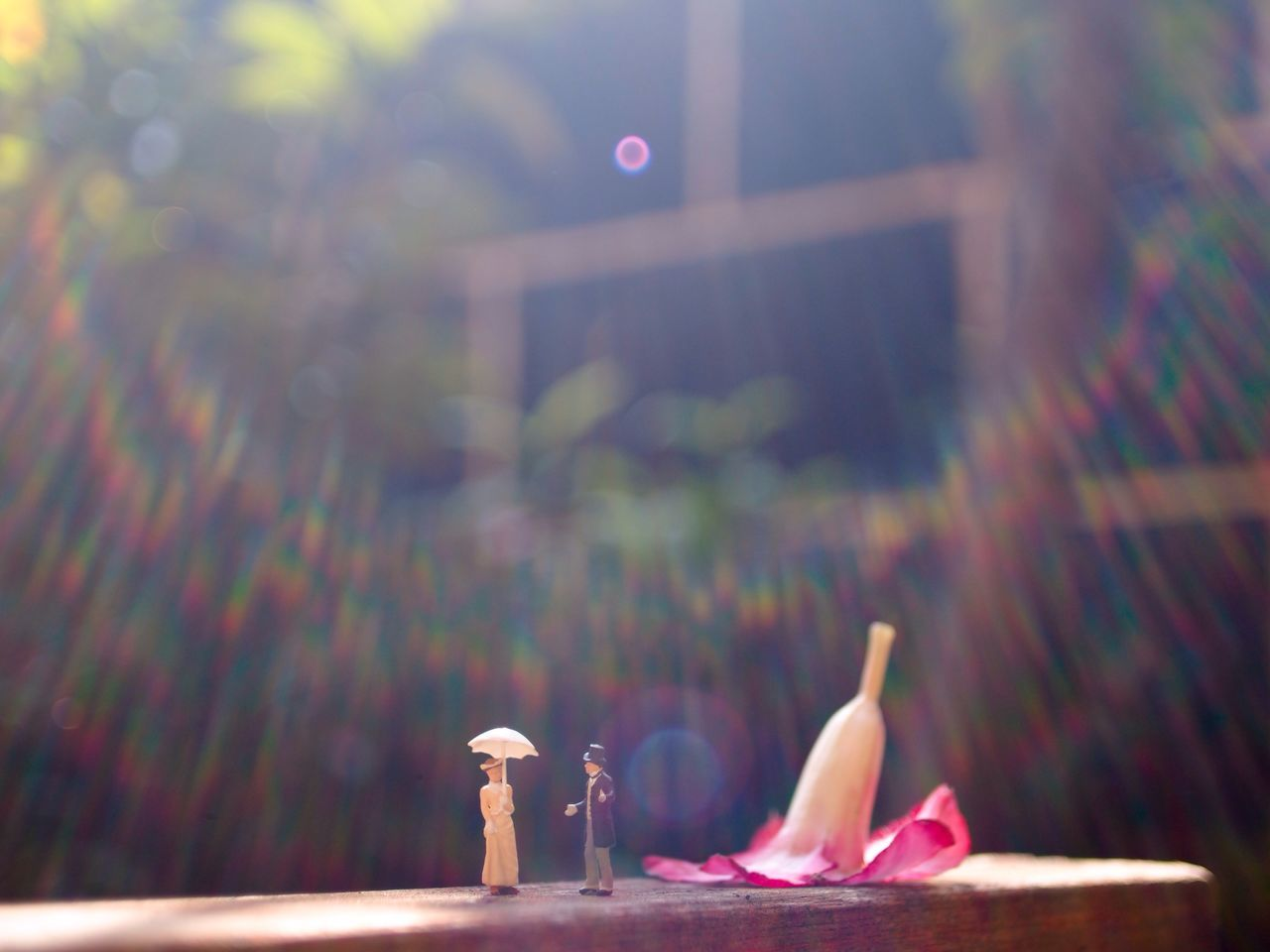 Meet Woman Variation Focus On Foreground Outdoors Person Red Multi Colored Freshness Preiser Preiserphotography Pentax 28mm Bokehlicious Bokeh Creative Creative Photography Toy Toyphotography Minifigure Miniature Flare