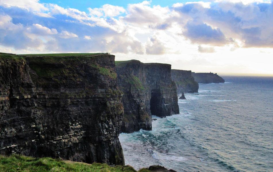 Beautiful stock photos of dublin, Beauty In Nature, Cliff, Cloud - Sky, Cloudy