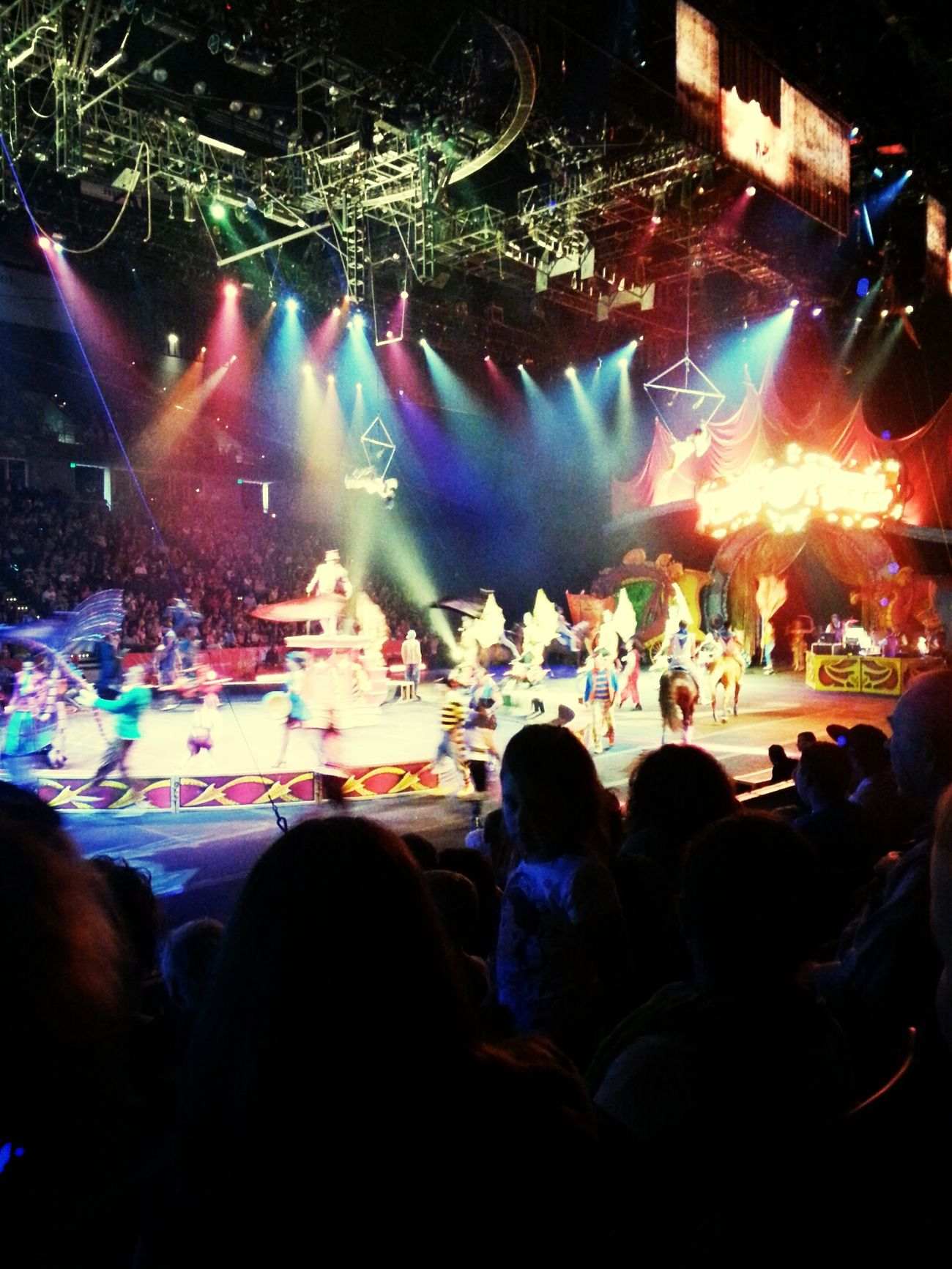 Circus Ringling Bros Barnum And Bailey Family Time