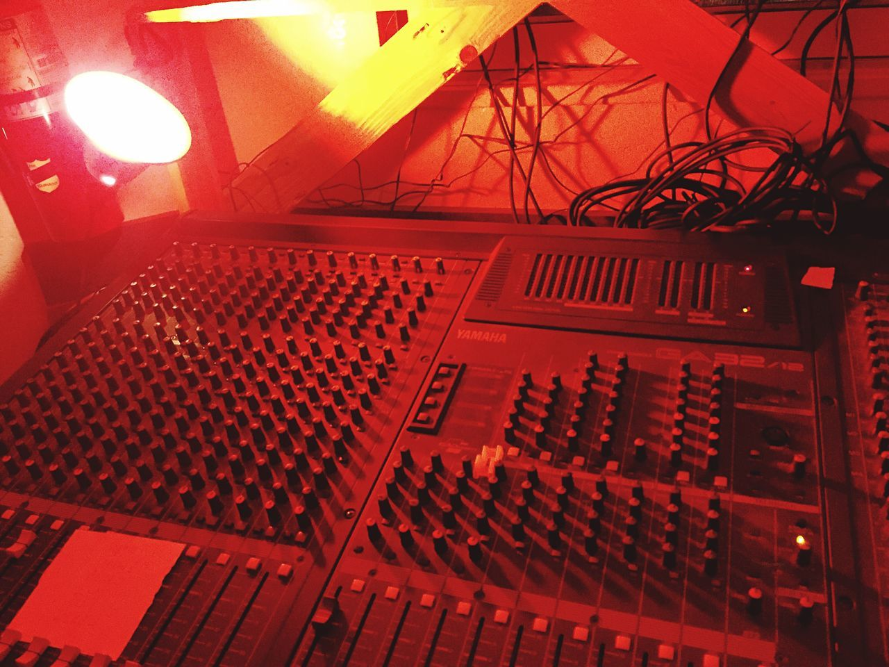 Illuminated Indoors  No People Technology Recording Studio Sound Mixer Low Angle View Day Break The Mold EyeEmNewHere