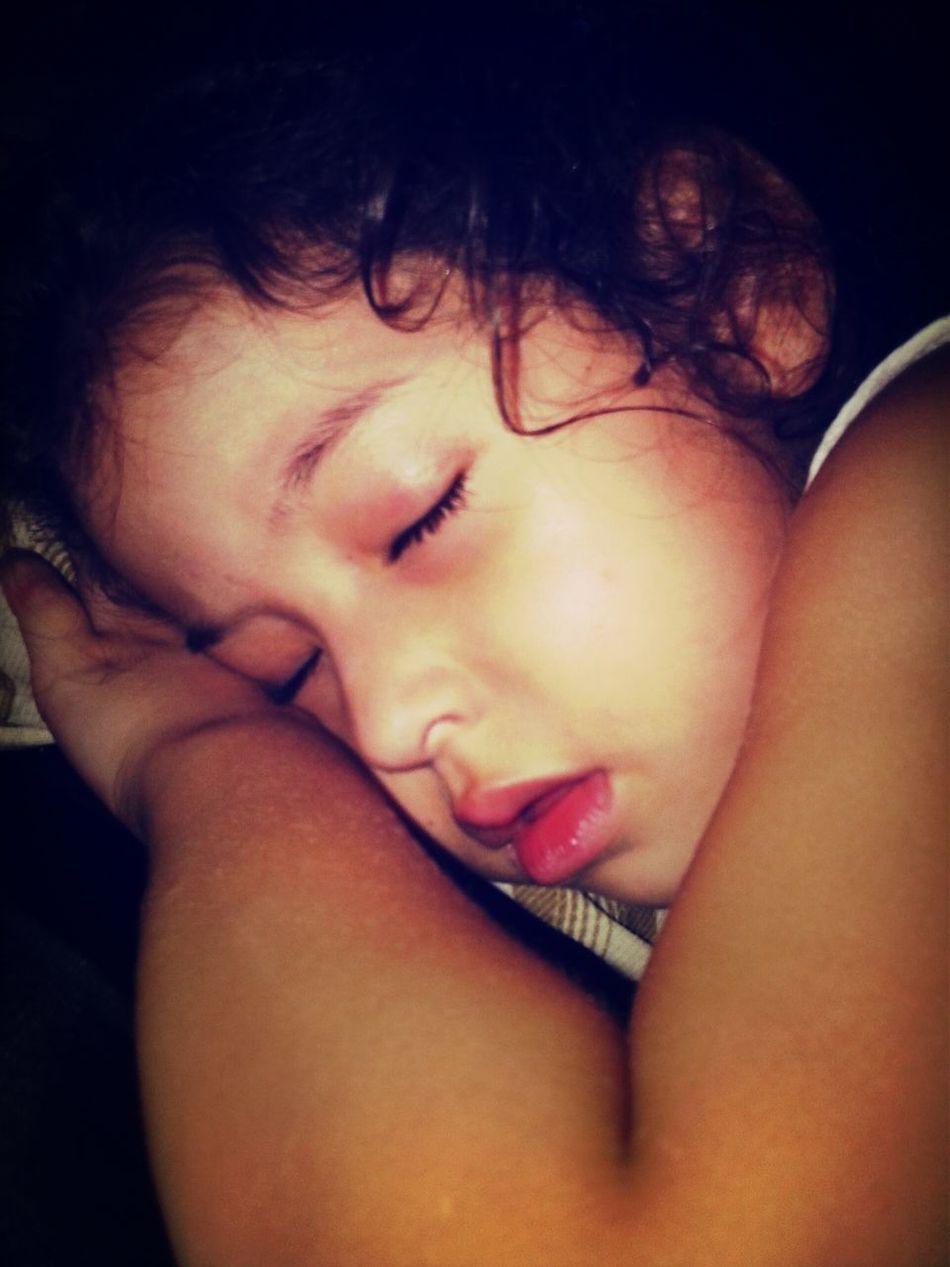 E ela dormiu