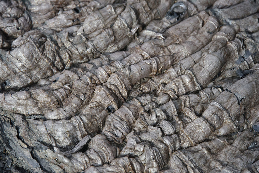 Waves of the clinker (frozen lava) Far East Kamchatka Rock Russia Textured  Textures And Surfaces