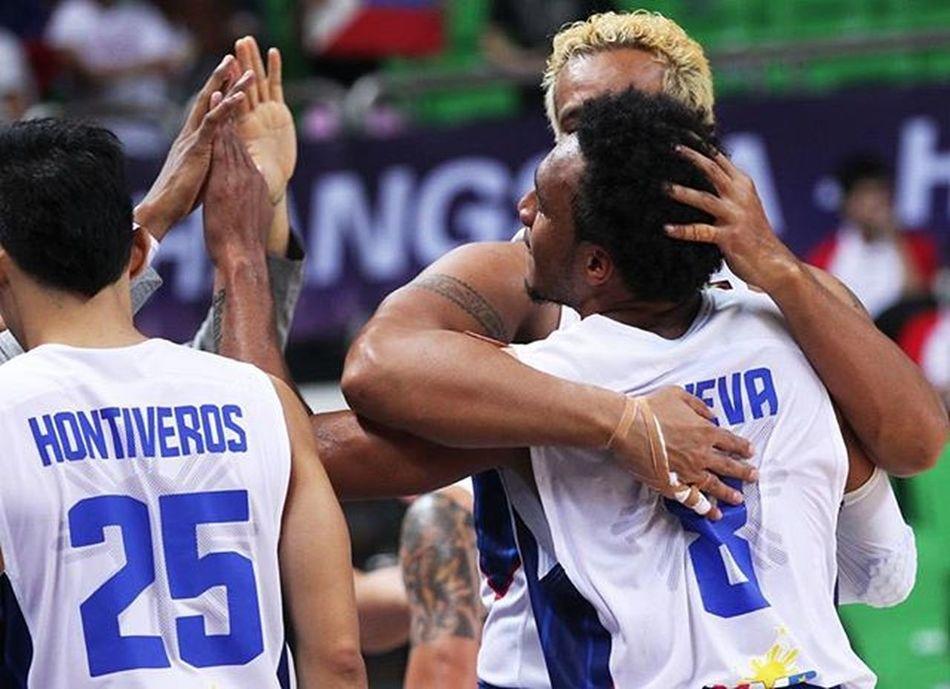 Congrats Team Gilas Pilipinas for defeating powerhouse Iran, 87-73! 🏀⚡ . . . 📷 © @fiba . . . LabanPilipinas Puso  Gilas Gilaspilipinas fibaasia2015
