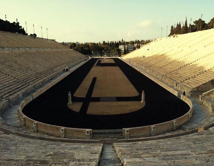 Panathenaicstadium Athens Greece Stadium Olympics Stone Architecture