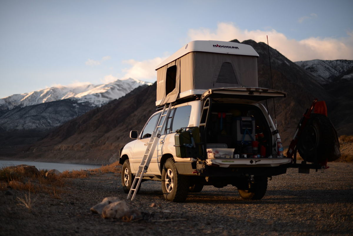 Adventure Camping Land Cruiser Mountain Offroad Outdoors Rooftop Tent Showcase: February Travel Truck