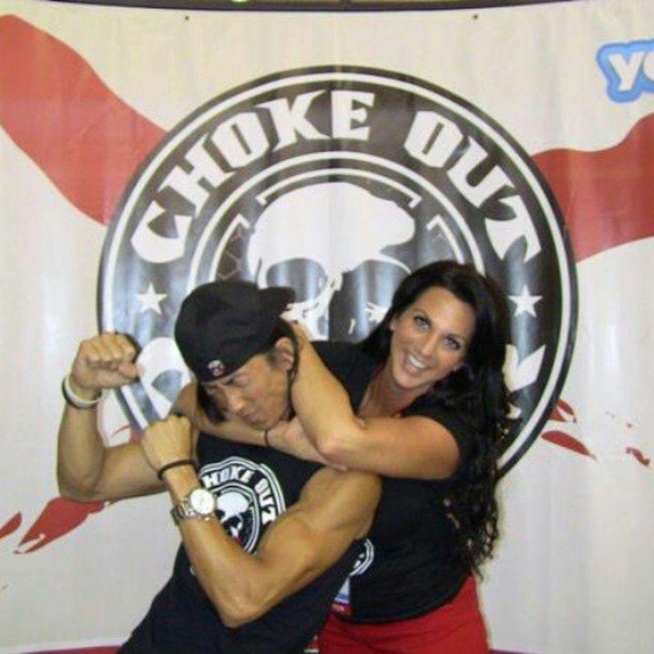 Chokeoutcancer Chokeouttv Andyandgina Love Chokeout Cancer Rearnakedchoke MMA Bjj Grapplegirls Toughlove
