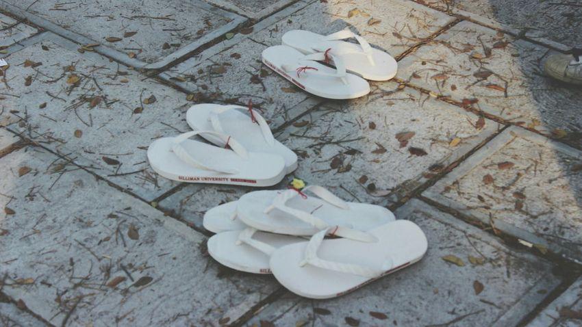 AWalkToRemeber ❤ LastWalk SillimanUniversity Sillimanian Slippers Lover Take A Walk