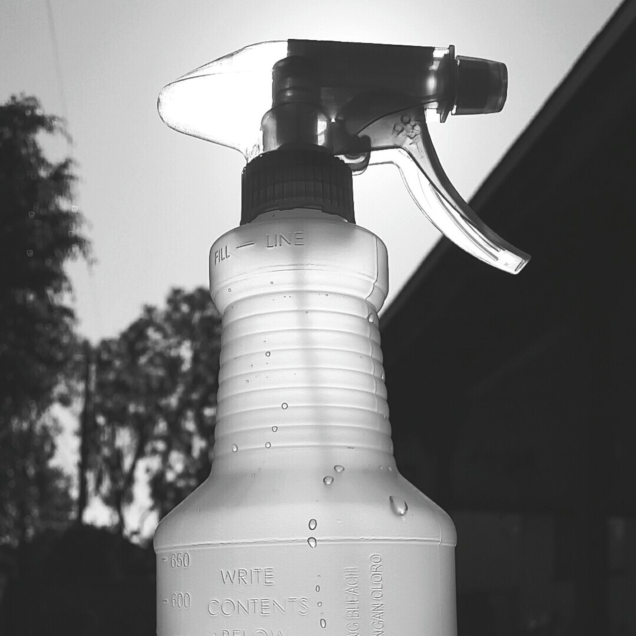 Black And White Photography Spray Bottle No People Poor Mans Air Conditioning Ghetto Ac Black & White
