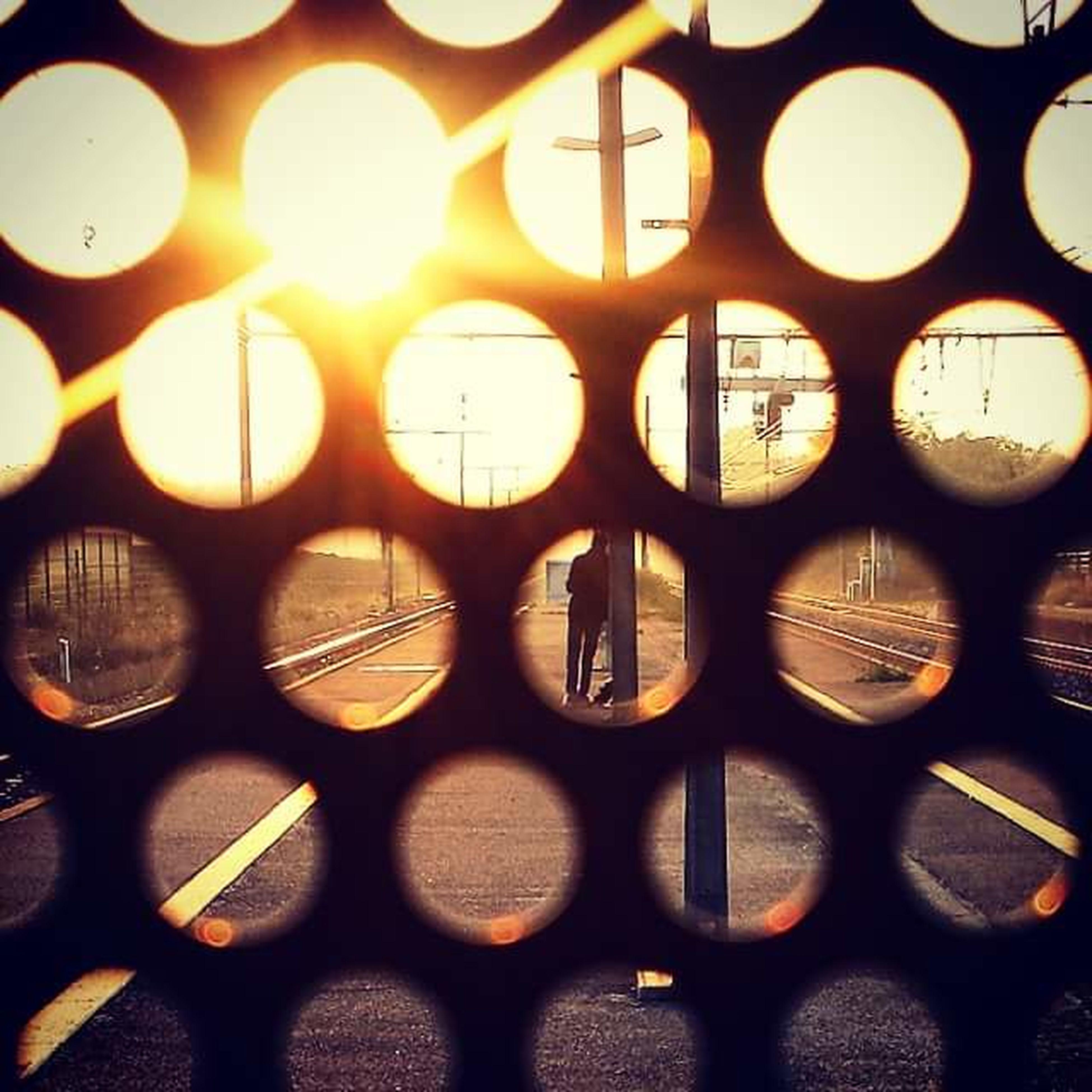 Trainstation Sunrise Vénissieux Traindelayed