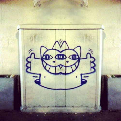 Hello World Streetart Monsieurlechat
