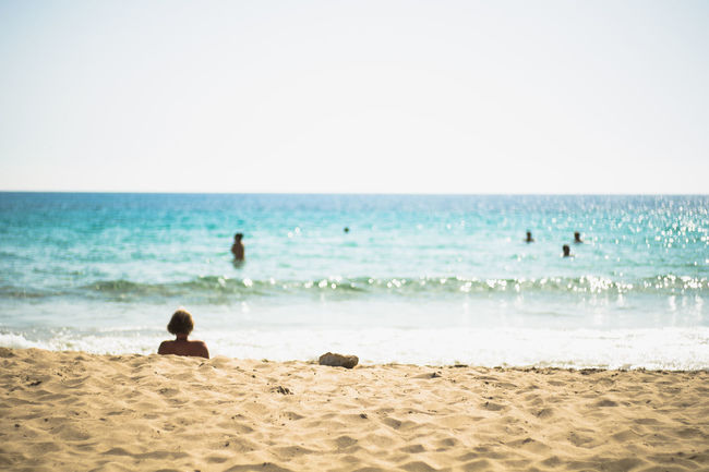 Beach Coastline Depth Of Field Escapism Focus On Background Getting Away From It All Horizon Over Water Ocean Outdoors Sand Sea Seascape Selective Focus Shore Summer Surf Vacations Water Wave Weekend Activities