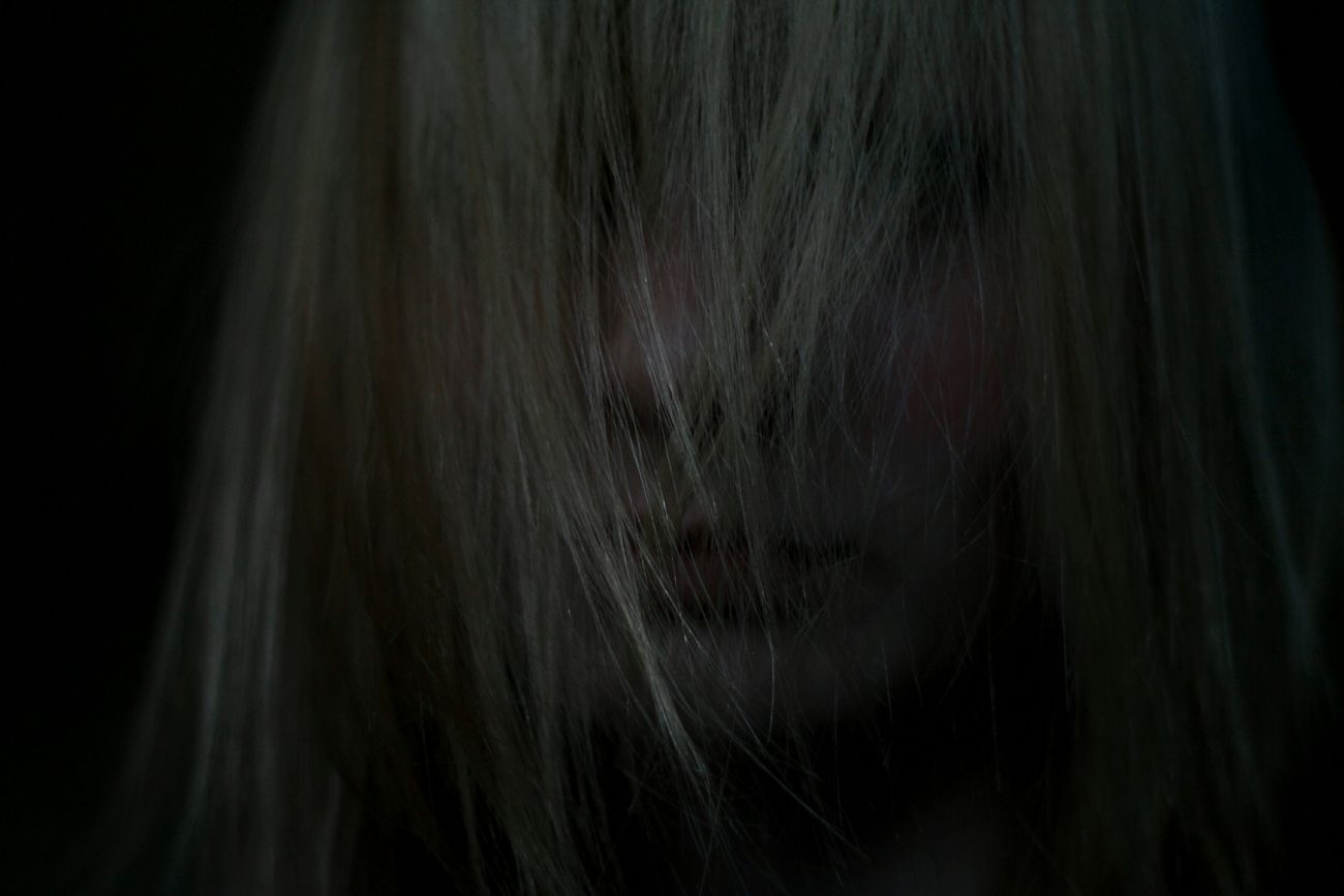 Girl Dark Dark Portrait
