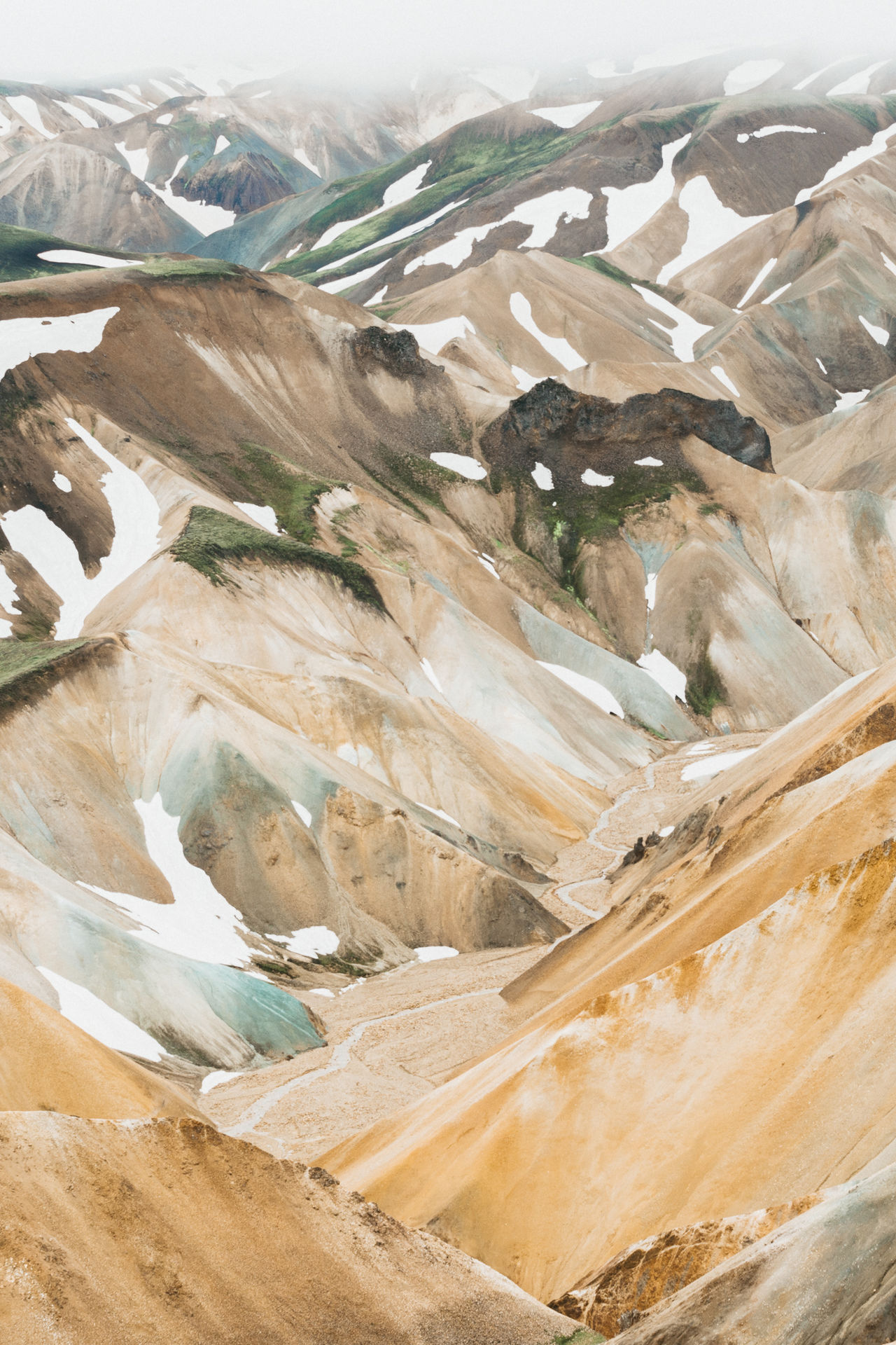 Mountains made with skittles Adventure Club Mountains Iceland Hike Rhyolite Landscape Landscape_Collection Landscape_photography Nature Adventure Outdoors Landmannalaugar Showcase July Fine Art Photography