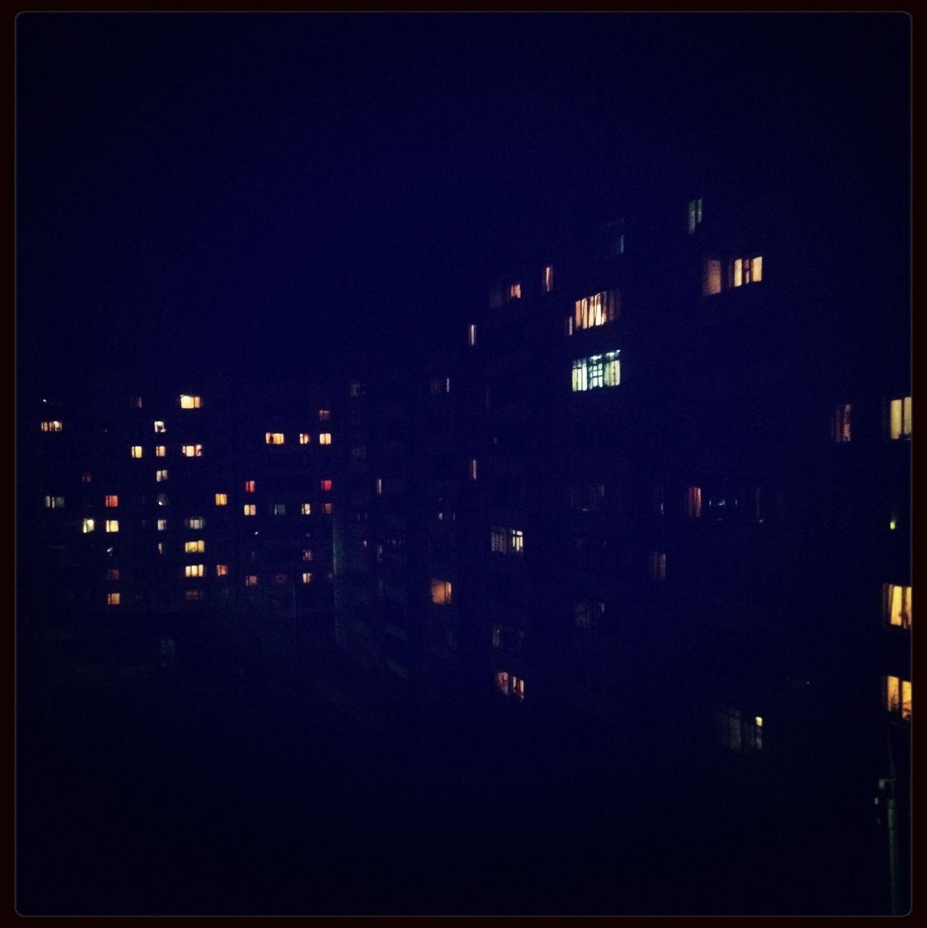 Город засыпает -|-