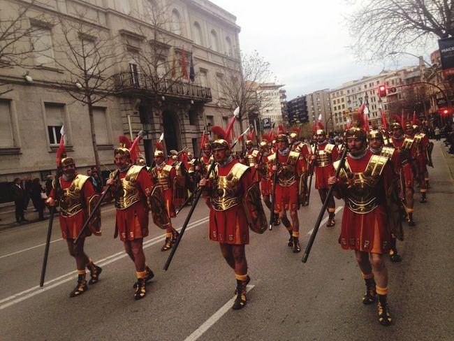 Celebració dels 75 anys dels Manaies de Girona. Girona Manaies Spring Setmanasanta