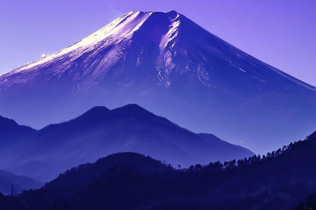 岩殿山からの富士🗻 Mt.Fuji Mount FuJi Fujiyama Fuji 富士山 岩殿山 Iwadono Mt.iwadono MountIwadono