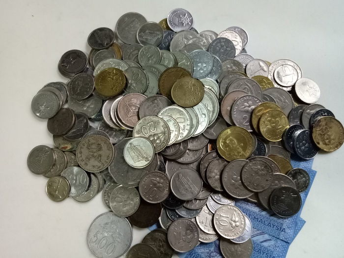 Coin Large Group Of Objects Finance Savings Abundance Wealth No People Stack Indoors  Close-up Day Illustrative Editorial