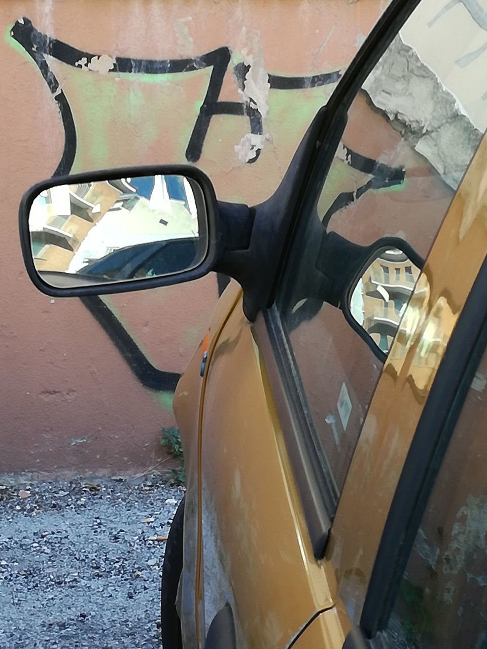 transportation, mode of transport, land vehicle, reflection, side-view mirror, car, day, no people, outdoors, close-up, nature