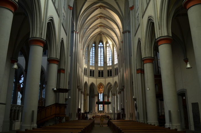 Altenberg Altenberger Dom Architecture Bergisches Land Cathedral Gothic Style Indoors  Place Of Worship Religion Spirituality Travel Destinations