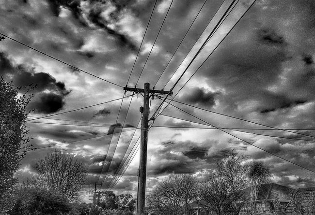 Blackandwhite Nature Photography Cloud_collection  Clouds And Sky