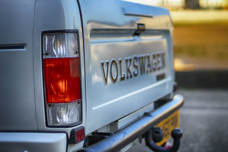 VW Caddy Car Pickup Whitecar CarShow Retro Seafront Oldcars Retro Car 50mm F1.8 Volkswagen