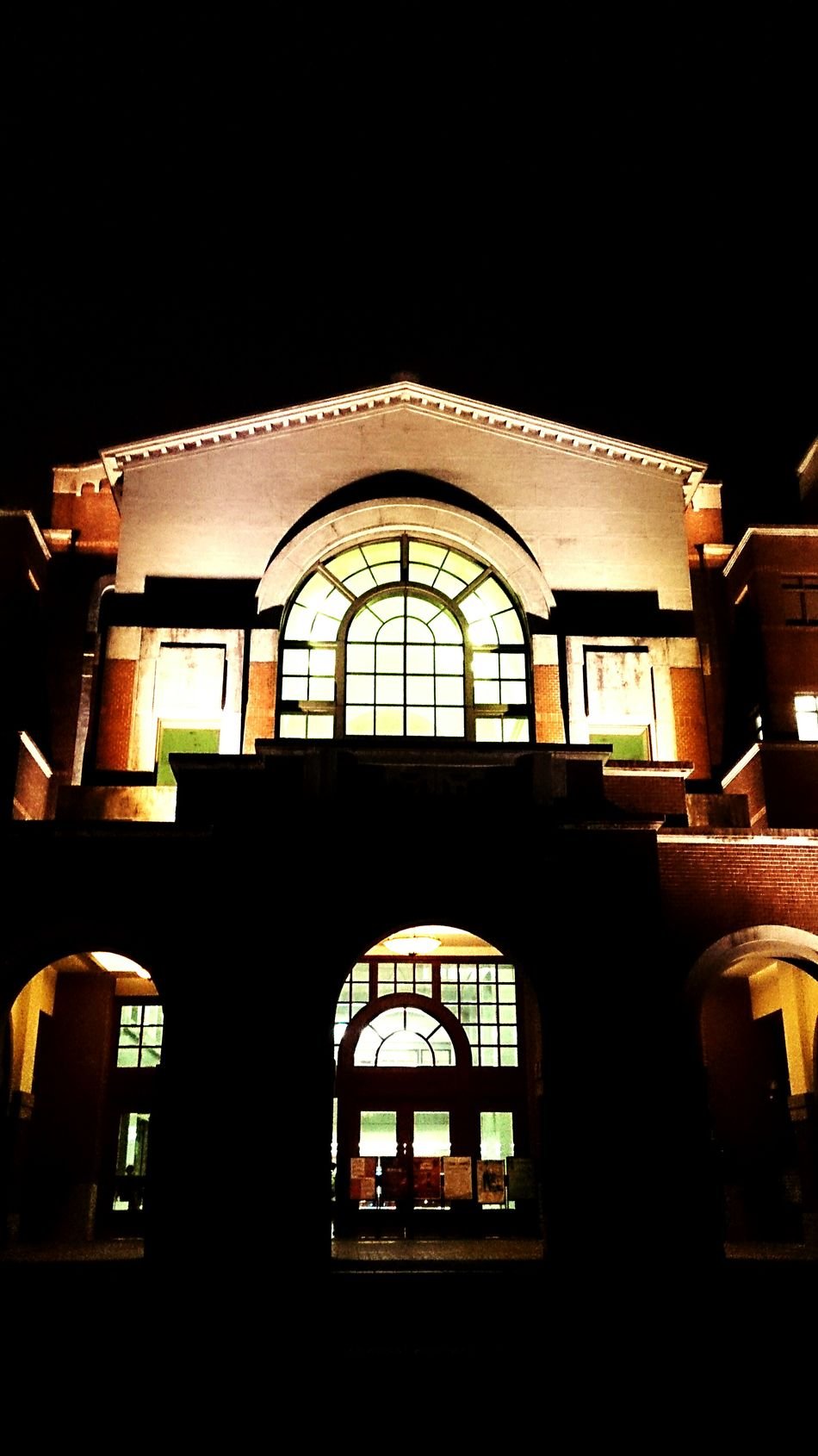 Night library Library Night Lights 國立臺灣大學 National Taiwan University  Learning Weekend Taking Photos EyeEm Best Shots Tourists Building