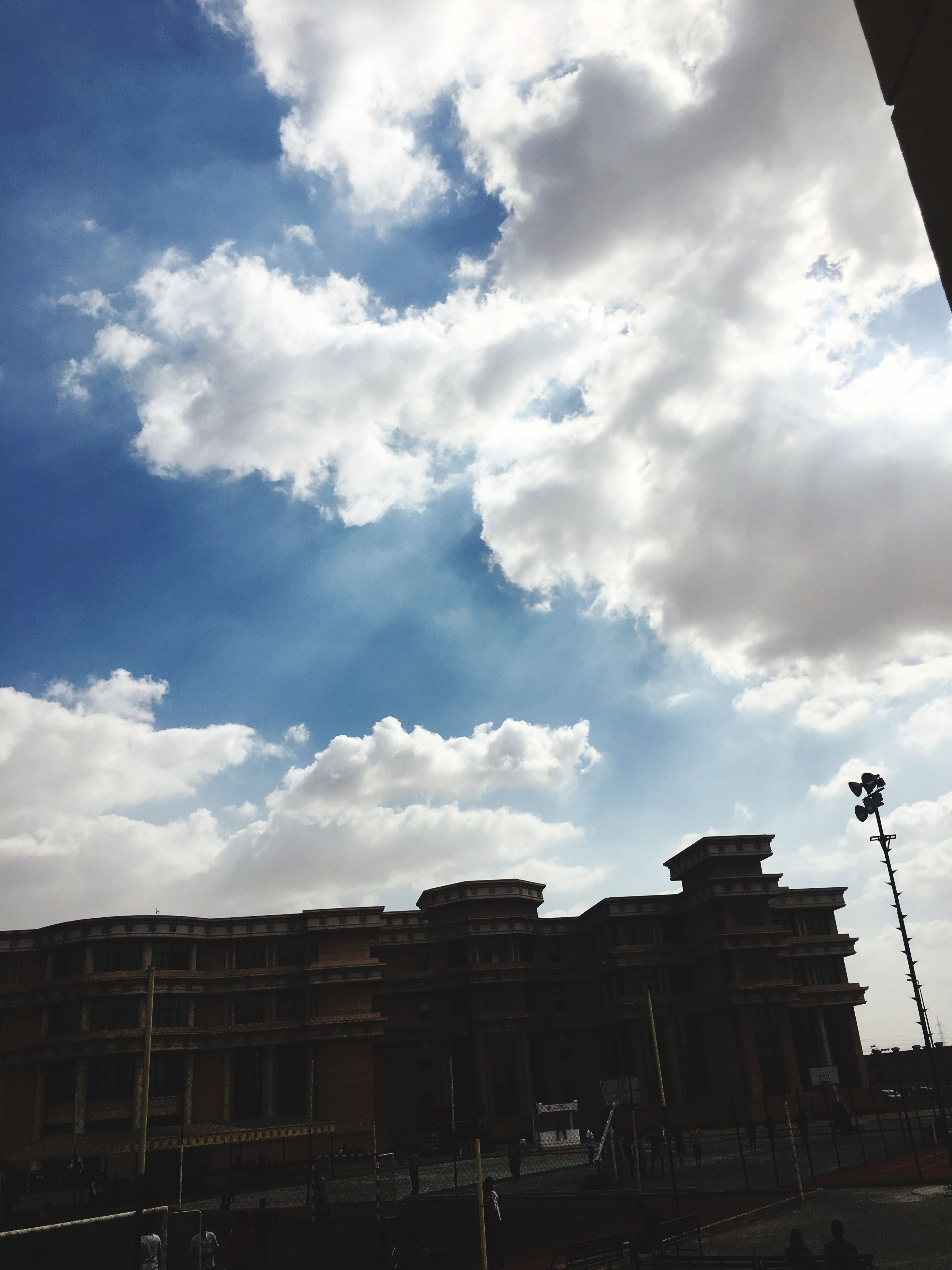 cloud - sky, sky, architecture, built structure, history, building exterior, no people, outdoors, day