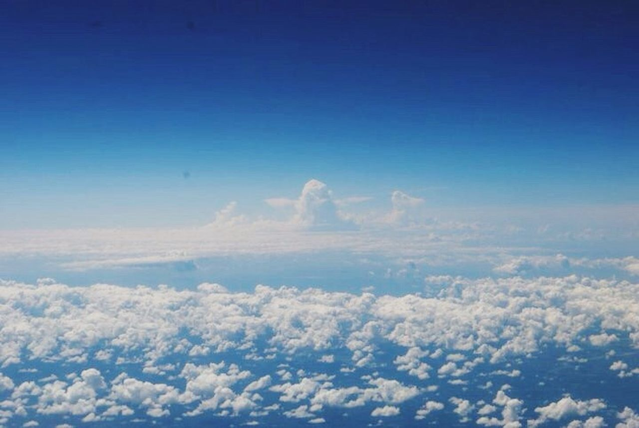 A Bird's Eye View Clouds Mil High Club Atmosphere In The Sky Airedale View Fluffy Color