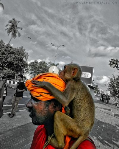 MumbaiDiaries Marines Monkeyman Monkey Indian Redminote4 Potrait_photography