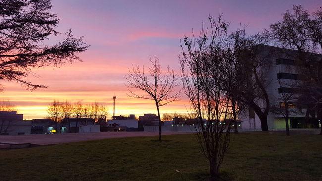 Sunset Atardecer No Filter Sin Filtro Montevideo Uruguay Aguada