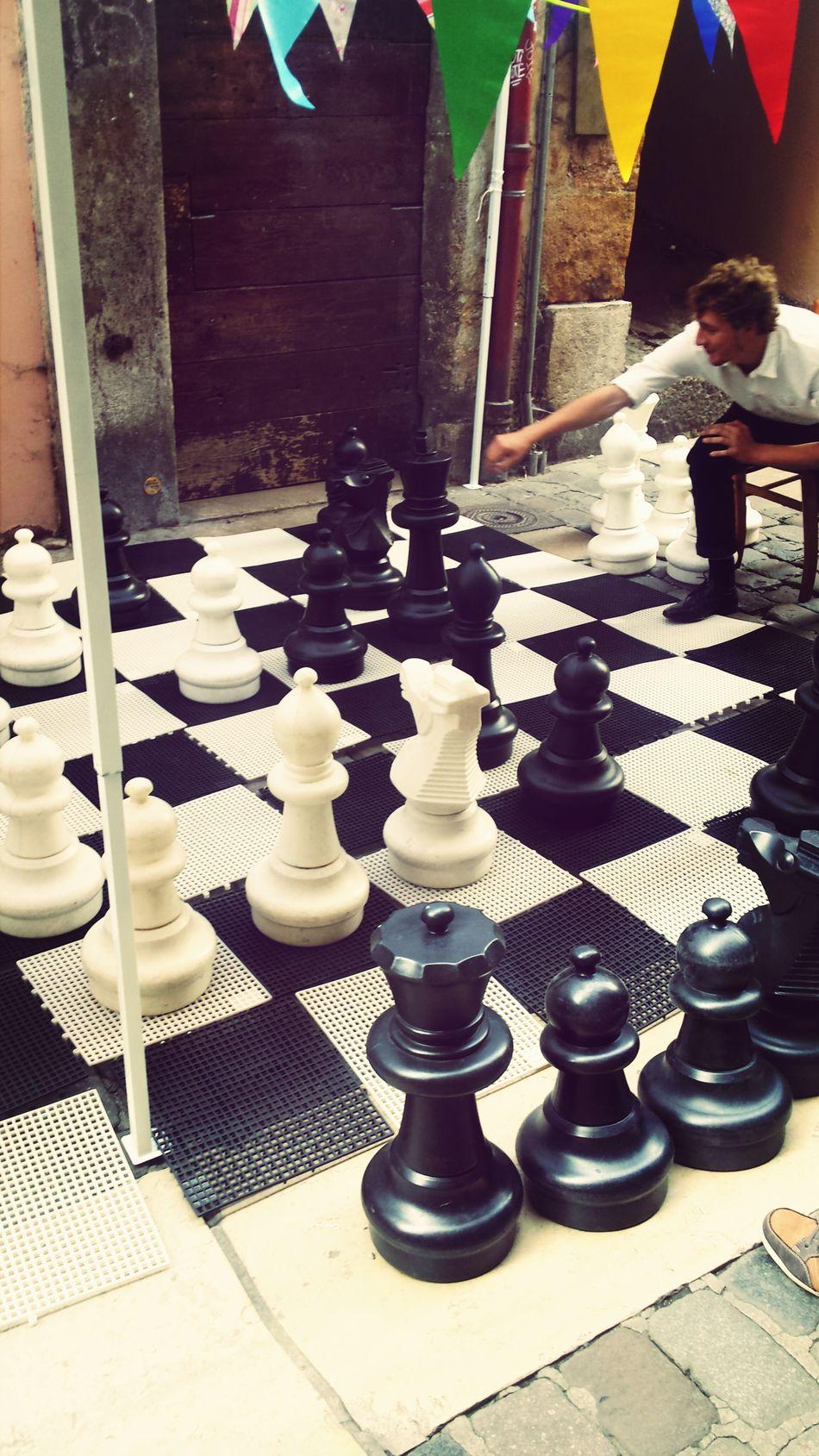 Giant Chess Vieux Lyon