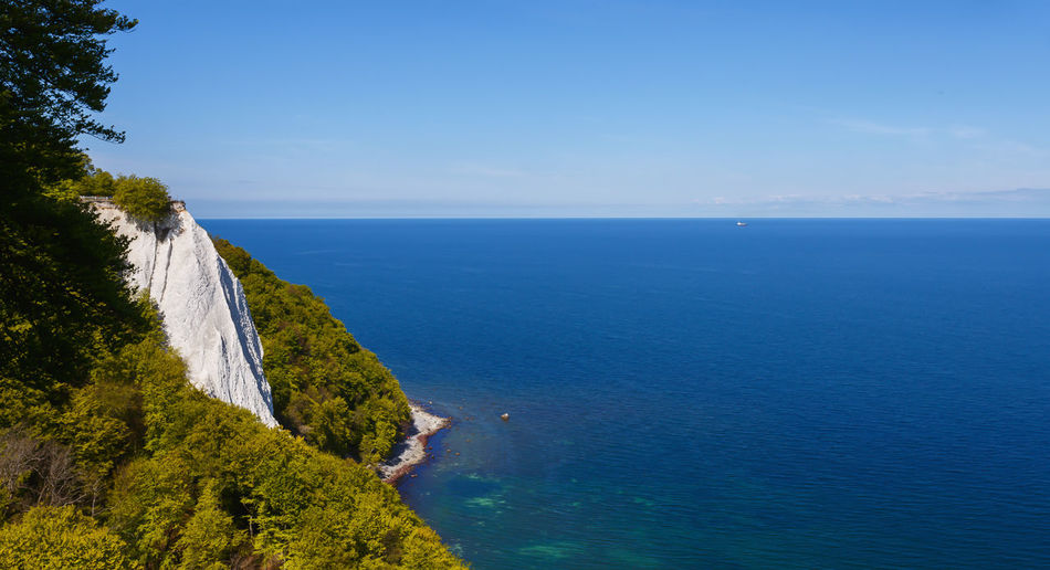 Rügen Cliff Seascape Baltic Sea