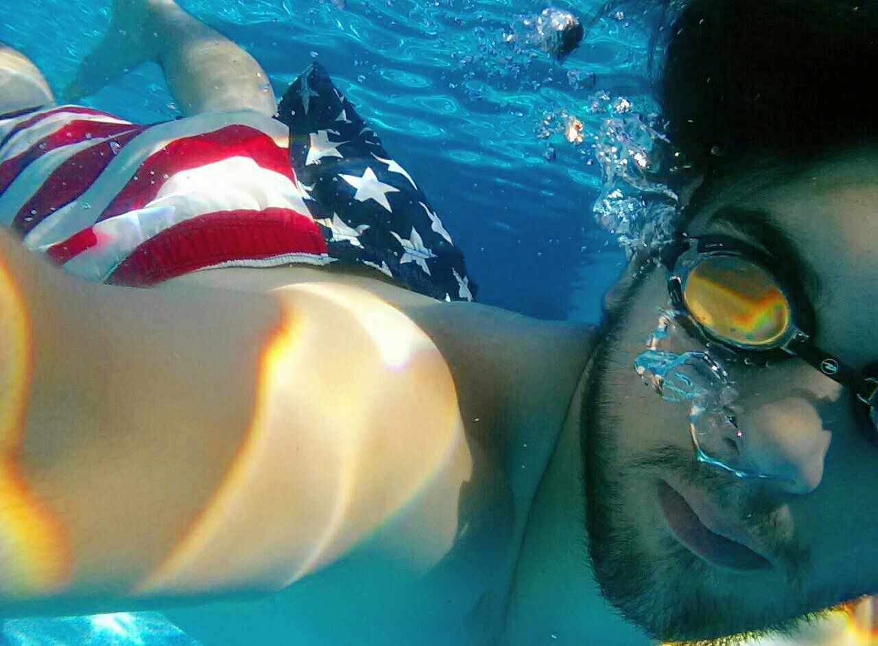 Check This Out The Explorer - 2014 EyeEm Awards Underwater Self Portrait
