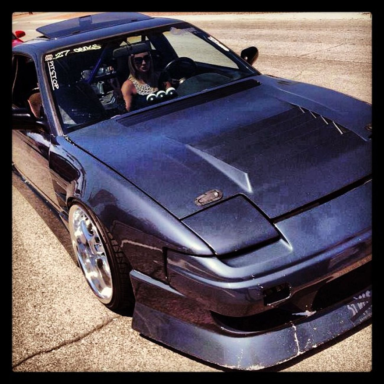 I want a girl that drives stick Lowlife Low &slow S13 180sx nissan nismo girls drift illest